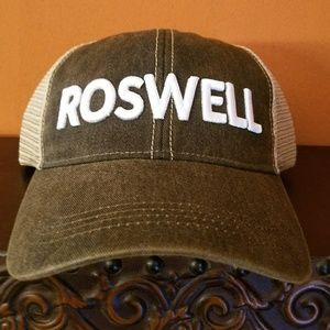 Roswell trucker hat unstructured cap